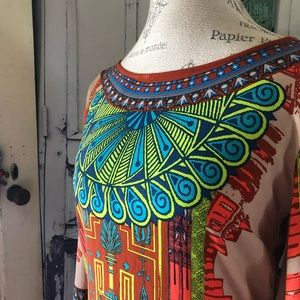 Flying Tomato tunic dress/ top